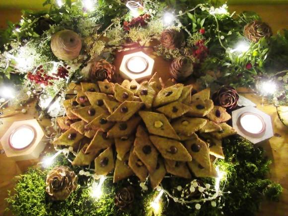 biscuits de noel aux noisettes